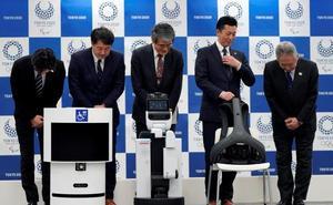 Tokio 2020 presenta dos robots «asistentes» para los Juegos Olímpicos