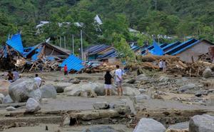 Asciende a 80 el número de fallecidos por las riadas en la provincia indonesia de Papúa