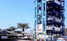 Así funcionará el primer aparcamiento vertical de España