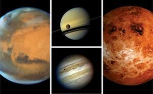 La primavera arrancará este miércoles con cuatro planetas dominantes y luna llena