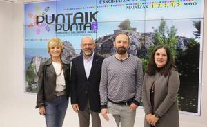Cuarta edición del festival de senderismo 'Puntaik punta' en Debagoiena