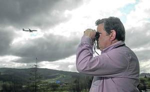 2.599 vuelos de buitres sobre el aeropuerto de Bilbao