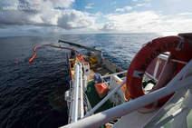 Los buques retiran el fuel del mercante 'Grande América'