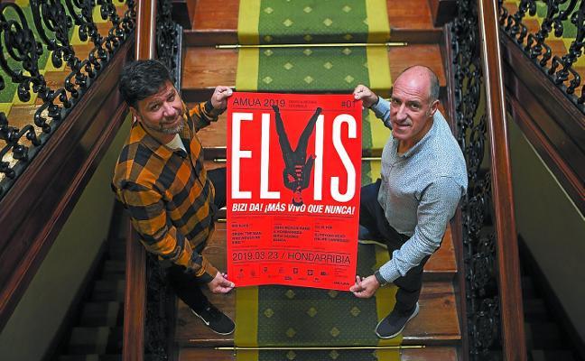 Elvis Presley será el protagonista del primer festival Amua de este año