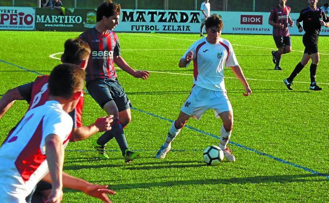 El Gure Txokoa fue superior al Urnieta, rival directo, al que le endosó un 4-0