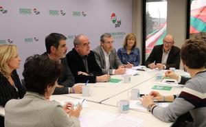 Reunión en el GBB con los principales candidatos