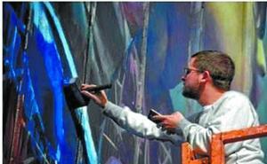 Clase magistral sobre pintura con Sebas Velasco y Mikel del Río