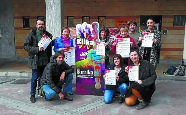 La Korrika comienza a calentar motores en media Pasaia