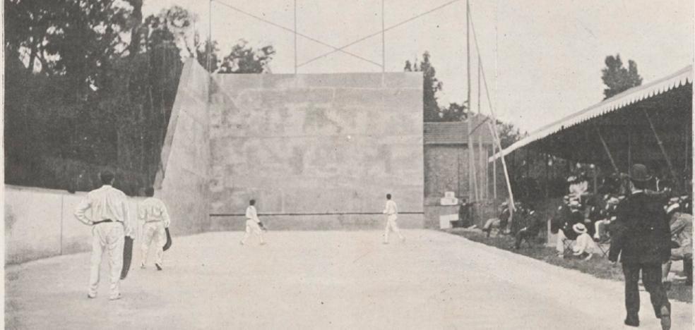 Un pelotari, el primer campeón olímpico vasco de la historia