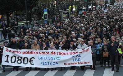 El Gobierno rechaza ahora reformar la pensión de viudedad que cobran 33.000 guipuzcoanos