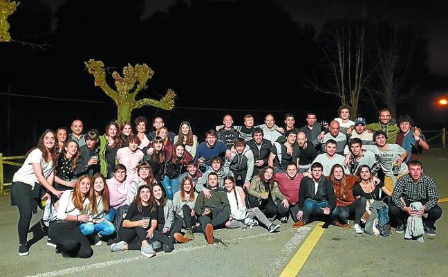 LOS DE DIVISIÓN DE HONOR REGIONAL, DE SIDRERÍA