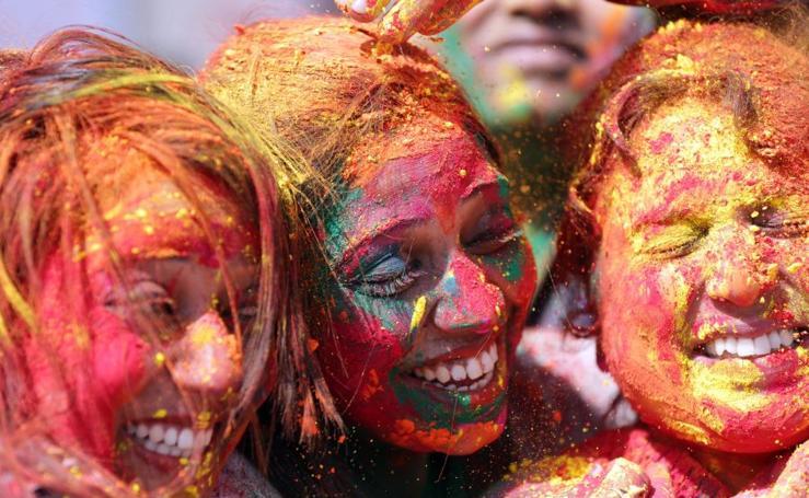 Festival de Holi en Amritsar