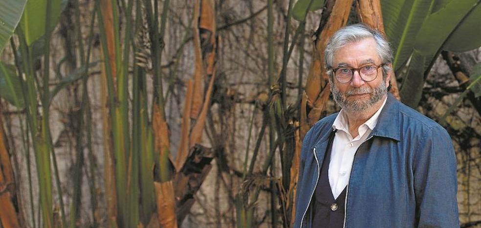 Antonio Muñoz Molina: «Ves horrores en televisión y enseguida se convierten en algo casi imaginario»