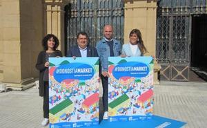 Un total de 260 comercios participan en la iniciativa Donostia Market, cuatro veces más que en 2018