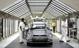 Volkswagen descarta la llegada de un modelo eléctrico a Landaben en los próximos 3 o 4 años