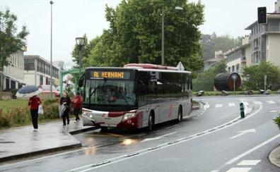 Aplazados los paros en los servicios de bus los sábados a sidrerías de Hernani y Astigarraga