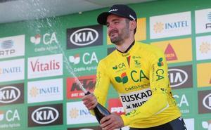 Enrique Sanz (Euskadi-Murias) refuerza el liderato tras ganar también la segunda etapa