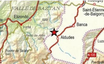 Un terremoto de magnitud 3,7 en Navarra se ha sentido en Irun