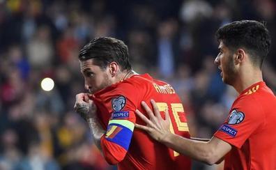 Sergio Ramos, el goleador de Luis Enrique