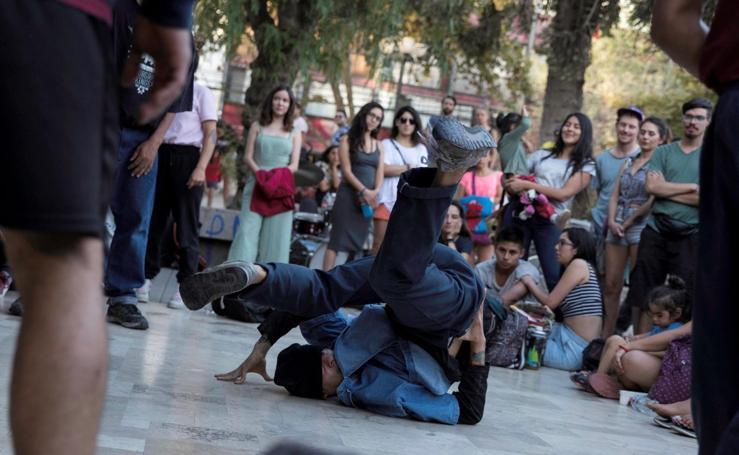 Break dance en Santiago de Chile