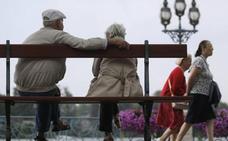 La cifra de pensionistas en Gipuzkoa aumenta un 1,1% en marzo y la pensión media se sitúa en 1.199 euros