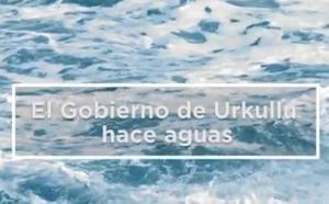 El PP vasco difunde un vídeo que afirma que Urkullu «hace aguas» tras sus acuerdos con EH Bildu y Sánchez