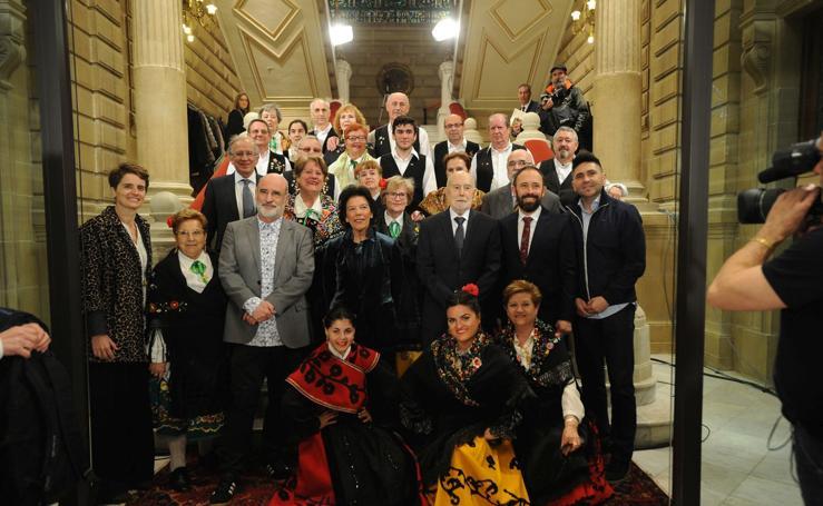 El homenaje a Raúl Guerra Garrido en imágenes