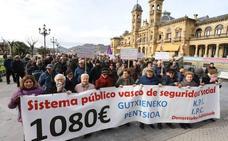 Los pensionistas volverán a manifestarse el 13 de abril