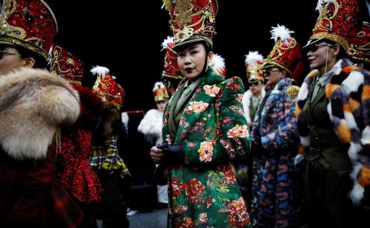 Semana de la moda en Pekín