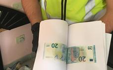 Desmantelan la imprenta de billetes falsos más activa de España