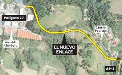 Las obras del nuevo enlace entre el polígono 27 y Astigarraga arrancarán el próximo octubre