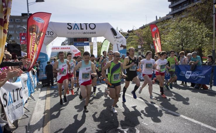 Jornada runner para todos los públicos en Irun