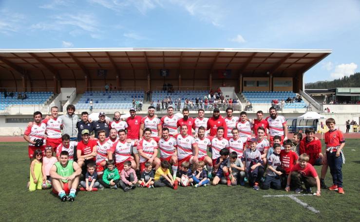 El Ampo Ordizia logra superar a La Vila Rugby (35-28)