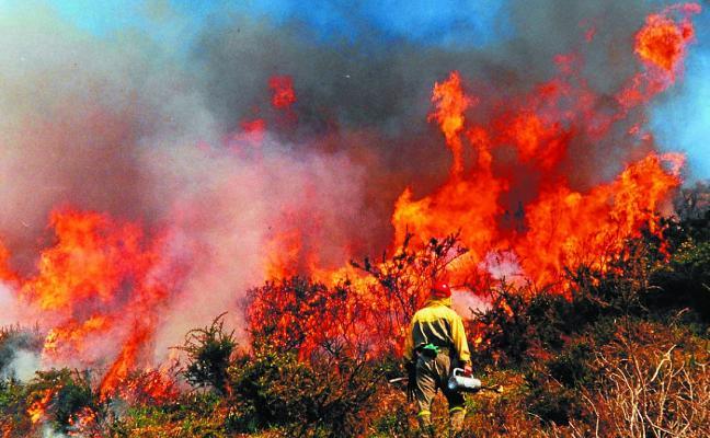 Prohibidas las quemas prescritas en toda Navarra sin autorización previa