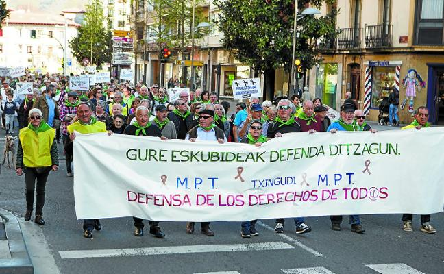 Los pensionistas vuelven a las calles en demanda de una prestación «digna»