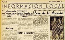 1940| Ranas gigantescas en el palacio de Aiete