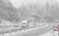 El miércoles vuelve el invierno con alerta amarilla por nieve