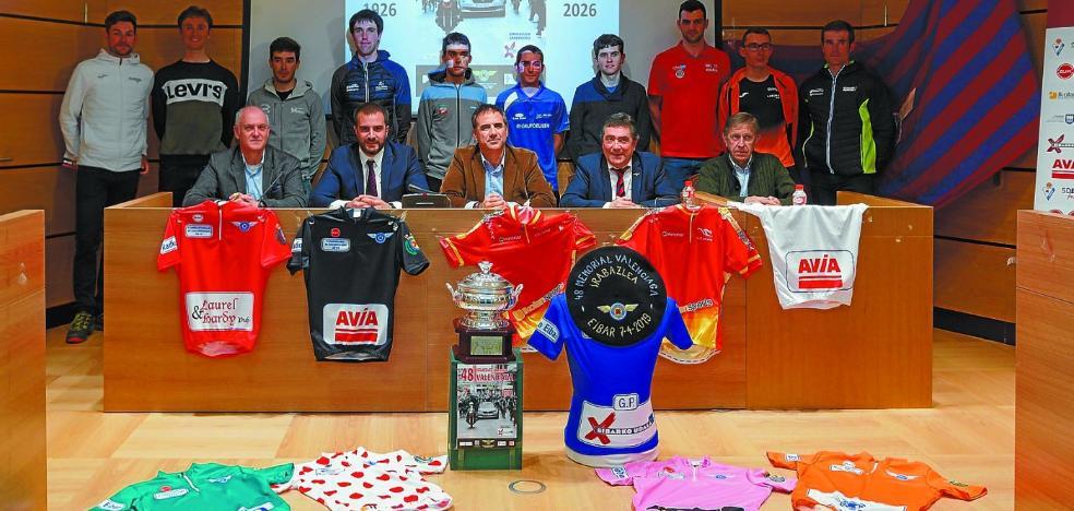 El Memorial Valenciaga, cita con lo mejor del ciclismo aficionado