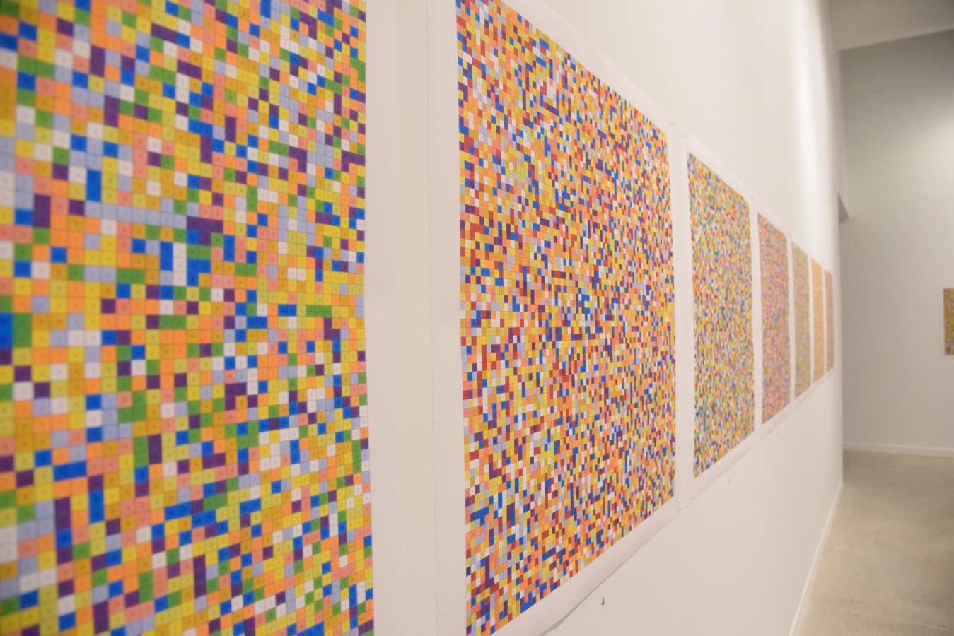 Esther Ferrer reflexiona sobre el tiempo desde su «mar de números primos»