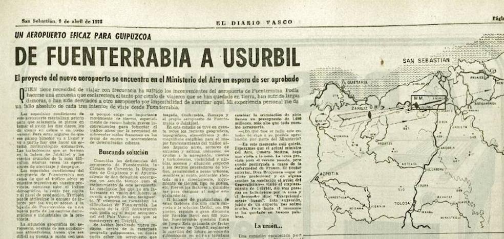 ¿Y si hacemos un aeropuerto en Usurbil?