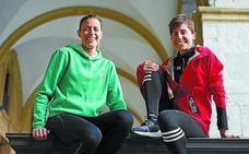Maitane y Hoki Guerrero, dos hermanas «felices» del aumento de mujeres