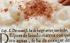 Del antiguo arroz con leche
