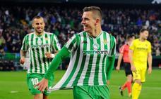 El Betis sigue en la pelea por Europa y mantiene al Villarreal en descenso