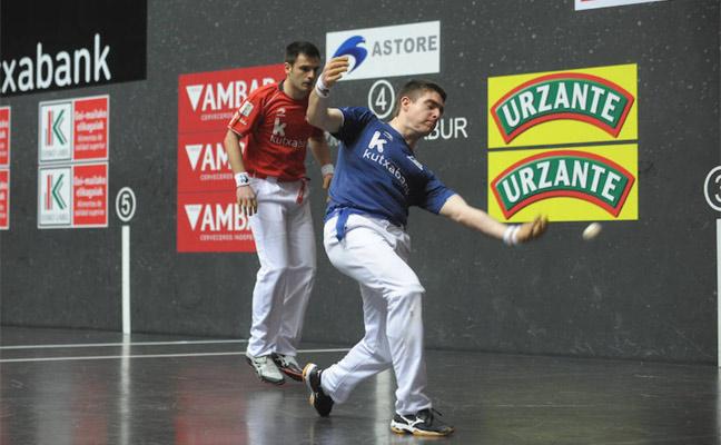 Elezkano II y Rezusta se llevan la txapela en el Campeonato de Parejas