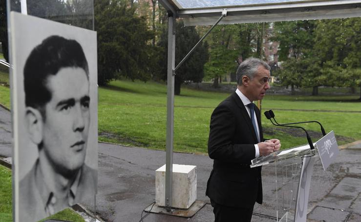 Primer homenaje del Gobierno Vasco a una sola víctima de ETA