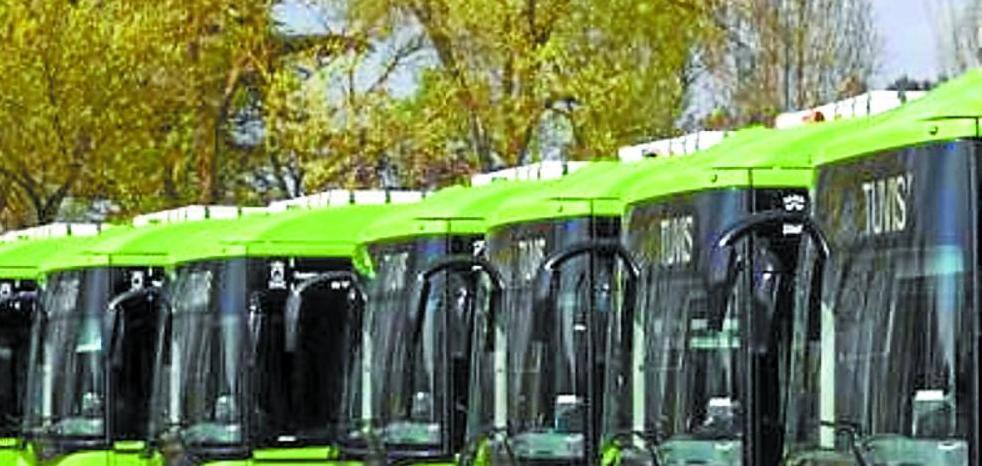 Vitoria incorpora cinco nuevos autobuses híbridos a su flota