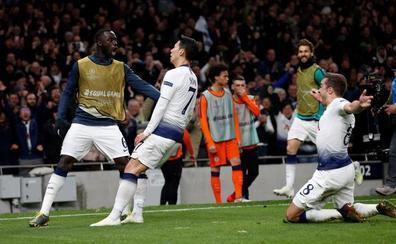 Son castiga al City y hace soñar al Tottenham