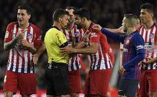 Competición le pide a Gil Manzano que aclare qué le dijo Diego Costa