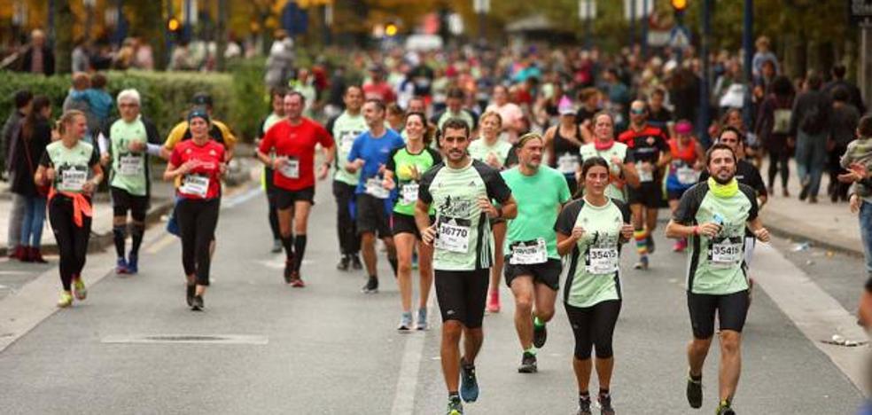 Más de 3.000 inscritos en la Behobia - San Sebastián en solo una semana