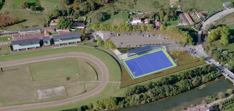 El campo municipal de hockey se estrenará en otoño del año que viene junto al hipódromo